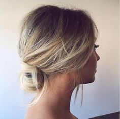 2018 wedding hair trends - relaxed bridal updo