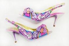 Sandale mireasa personalizate - You & Me - I Do
