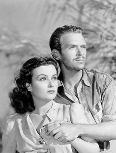 Joan Bennett and Douglas Fairbanks, Jr. in Green Hell Voted the worst picture (movie) of the year 1940 by the students of Harvard University. Bad Picture, Picture Movie, Movie Tv, Golden Star, Golden Age, Moustache, Joan Bennett, Douglas Fairbanks, The Golden Years