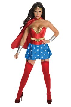 Wonder Woman Dlx Adult Large