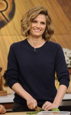 TV SHOWS: Stana Katic on The Chew (2013)