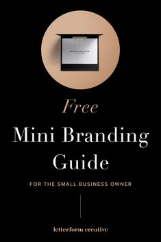 Hey small business owner! Do you need some FREE branding help from a professional designer? This mini branding guide provides step by step advice + guidance on creating a cohesive brand yourself. It will help your branding be consistent in print, online, and on social media. Get some tips to help you design your full brand, including a logo, color palette, and fonts. Click through to grab your copy!