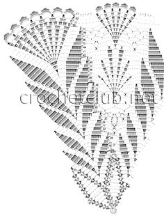 crochet umbrella chart