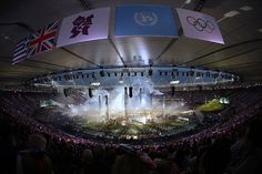 graeme best pics: London 2012 Opening Ceremony. Fisheye at it's best.