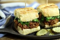 These BBQ Pulled Jackfruit Sandwiches are the perfect vegan alternative to traditional pork sandwiches. They're hearty, satisfying & smoky sweet!