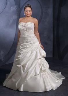 The Princess Bridal Wedding Blog: Wedding dresses Plus sized