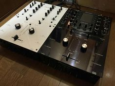 Pioneer DJM707 & DJM909 rotary customisation by Kenichi Kirihara in Japan.
