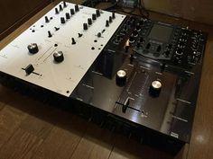 Pioneer DJM707 & DJM909 rotary customisation by Kenichi Kirihara in Japan.