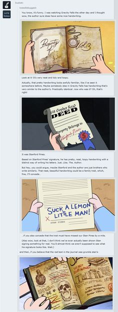 Edit: This post was made before we knew for sure that Stanley/Stanford was the author, or that he even existed. As such, this theory does not line up with actual events in Gravity Falls. It is super cool though!