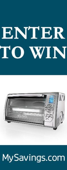 Win a Black + Decker Digital Toaster Oven using this code! http://swee.ps/qmRNRsai