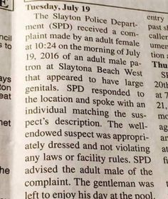 This is the kind of stuff that makes news in a small town.   http://ift.tt/2aPc412 via /r/funny http://ift.tt/2aPbCzV  funny pictures
