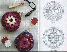 Crochet.Monederos