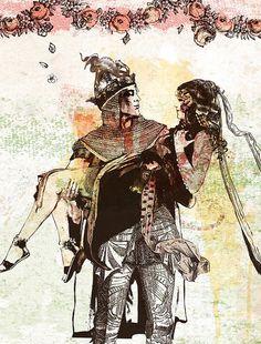 La leyenda del Rey Arturo y sus caballeros by Pere Ginard, via Flickr