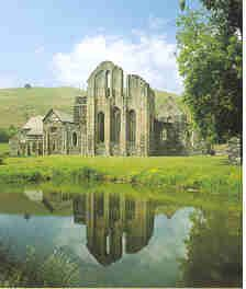 Valle Crucis Abbey, Wales.