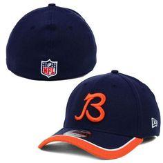 "Chicago Bears NFL14 ""B"" Logo On-Field 39Thirty Flex Fit Cap"