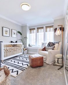 Baby Nursery Neutral White Ideas For 2020 Baby Room Boy, Baby Bedroom, Baby Room Decor, Nursery Room, Elephant Nursery, Wall Decor, Lego Bedroom, Childs Bedroom, Baby Room Design