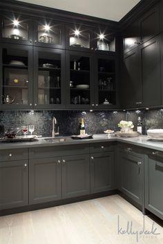 Grey Hardwood Floors Ideas Modern Kitchen Interior Design Dark Enchanting Kitchen Designs Dark Cabinets Design Inspiration