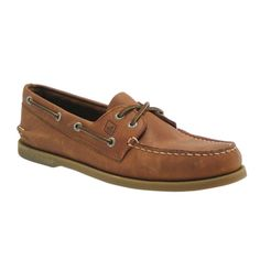 Mens Sperry Top-Sider Authentic Original Casual Shoe - Tan