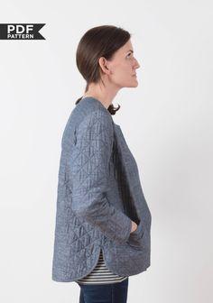 Tamarack Jacket | Grainline Studio - PDF pattern