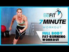 7 Minute Workout: Full Body Fat-Burning Cardio - YouTube