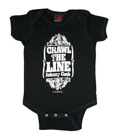 Johnny Cash Crawl the Line One Piece