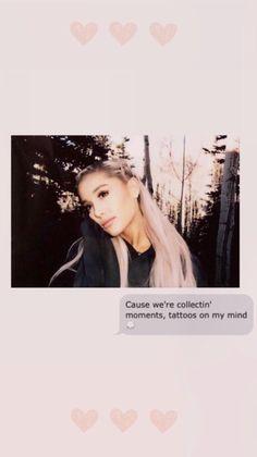 Ariana Grande Lyrics, Ariana Grande Fans, Ariana Grande Wallpaper, Night Sky Wallpaper, Ariana Grande Sweetener, Fan Edits, Dont Call Me, Fake Smile, Bae