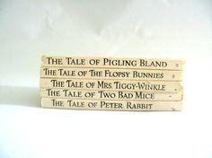 Beatrix Potter Books Set of Five Vintage Hardback by mish73, £16.00
