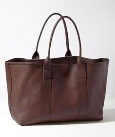 Westport Leather Tote: BAGS   Free Shipping at L.L.Bean