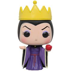 Disney Pop! Snow White Evil Queen Vinyl Figure | The Evil Queen is given a fun, and funky, stylized look as an adorable collectible figure!