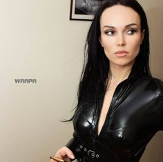 Latex Catsuit. Wrapa's House