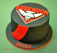 Cherry's Cakes: Essendon Bombers