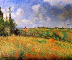 Camille Pissarro「Fields」(1877)