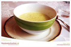 Zupa-krem z zielonego ogórka - #przepis na zupę z ogórków świeżych  http://pozytywnakuchnia.pl/zupa-krem-z-zielonego-ogorka/  #ogorki #zupa #obiad #kuchnia