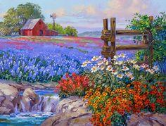 paisajes-con-flores-espatula-al-oleo