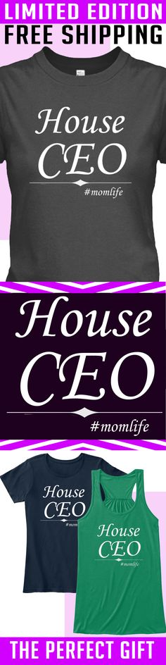 CEO Mom - Limited Edition. Only 2 days left for free shipping, get it now!