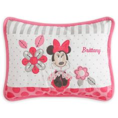 MINNIE MOUSE Pillow – Personalizable
