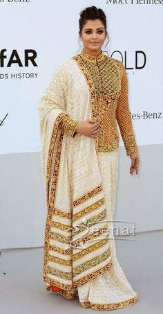 Aishwarya Rai Saree   Aishwarya-Rai-Saree-Abu-Jhani.jpg