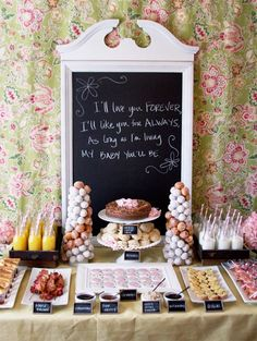 Breakfast Baby shower party-ideas