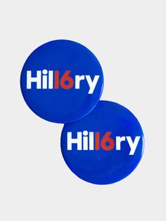 Hil16ry Button - great ID design!