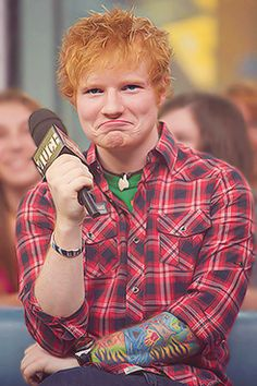 """Grumpy Ed. Guys this could be a thing. Quick! Someone make a cute """"grumpy cat vs. grumpy Ed"""" thing!"""