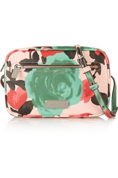 e06bec6c791 Marc by Marc Jacobs - Sally printed faux textured-leather shoulder bag
