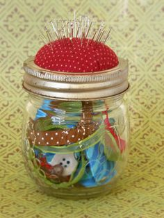 Pin cushion ~ Hobbychic