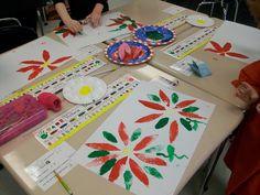Mrs. Wheeler's First Grade Tidbits: Poinsettia Art