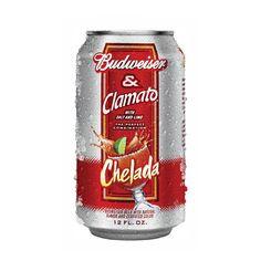 Budweiser Chelada can