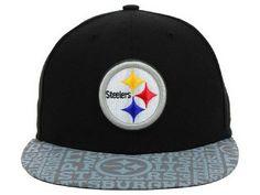 NFL Mens Pittsburgh Steelers Flatbrim Cap Pittsburgh Steelers Hats dd939181d89