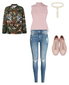 """""""Untitled #588"""" by aayushi3912 on Polyvore featuring Forte Couture, Rumour London, H&M and Common Projects"""