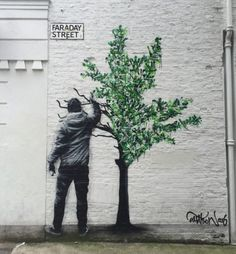 Street Art by Martin Watson - Located in Manchester, UK