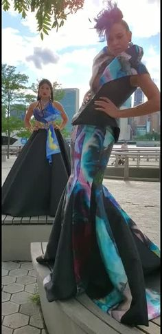 """Andres Aquino on LinkedIn: """"A gorgeous day overlooking NYC Andres Aquino """"Dreaming Diamonds"""" a red carpet fashion collection"""" Sept 2019 at Couture Fashion Week New York. Couture Mode, Couture Fashion, Film Awards, Red Carpet Fashion, Short Film, Sari, Nyc, New York, Model"""