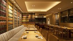 Internationaly based interior design firm Super Potato's official home page. Architectural Lighting Design, Restaurant Interior Design, Bar Lounge, Light Architecture, Cafe Restaurant, Dining Area, Floors, Walls, Layout