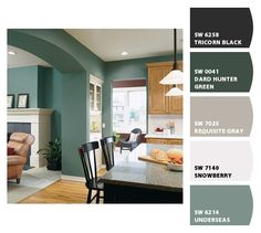 Too Bad We JUST Painted Our Living Room And Kitchen I LOVE THIS COLOR COMBO